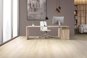 laminate floors in office