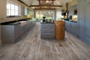 attractive tile flooring