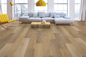 attractive vinyl flooring installation
